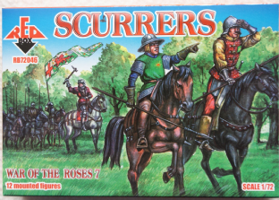 Red Box 1/72 RB72046 Scurrers (War of the Roses)